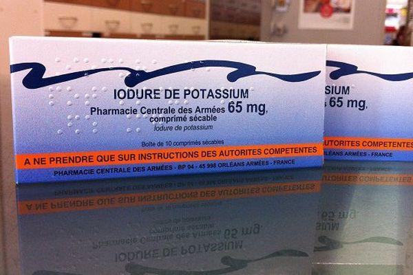 Nouvelle campagne de distribution de pastilles d'iode