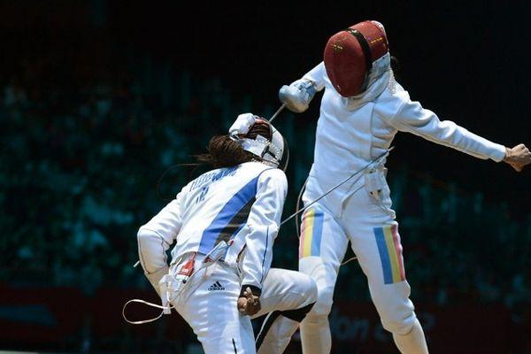 Battue en 1/8e de finale des Jeux Olympiques de Londres 2012, Laura Flessel fait ses adieux à l'escrime.