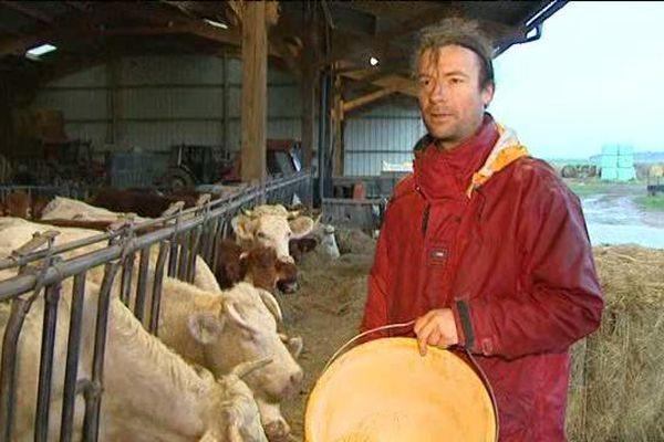 Stéphane Durand, agriculteur bio à Vienne-en-Val (Loiret)