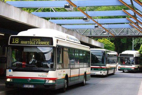 Un bus Transpole.