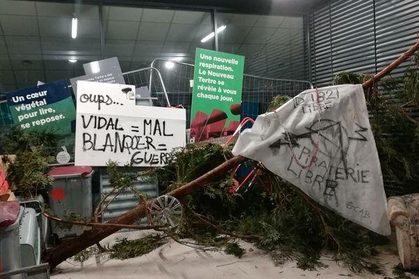 Blocage des amphithéâtres pour manifester contre le Plan Etudiant, en mai dernier.