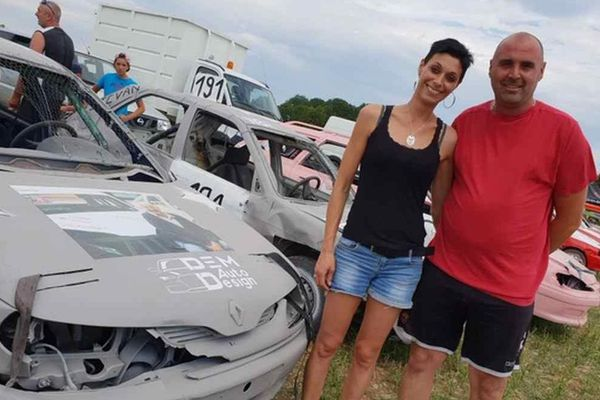 Emilie et Damien, frère et soeur passionnés de stock-car