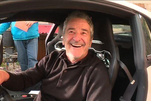 Bruno Saby, vainqueur du Monte Carlo en 1988 et ouvreur bénévole pour le rallye de l'Ardèche