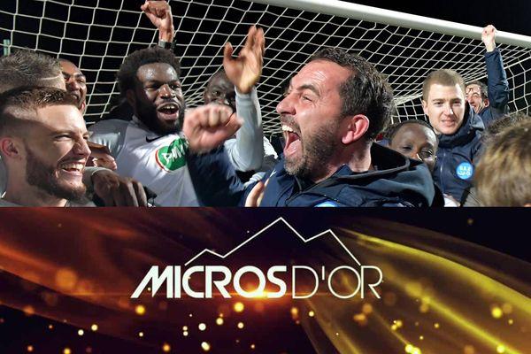 Le reportage sur l'entraîneur granvillais Johan Gallon réalisé par Florent Turpin et Guillaume Le Gouic récompensé d'un Micro d'Or 2020.