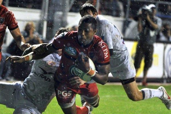 Delon Armitage a marqué deux essais face à Montpellier (Archives)