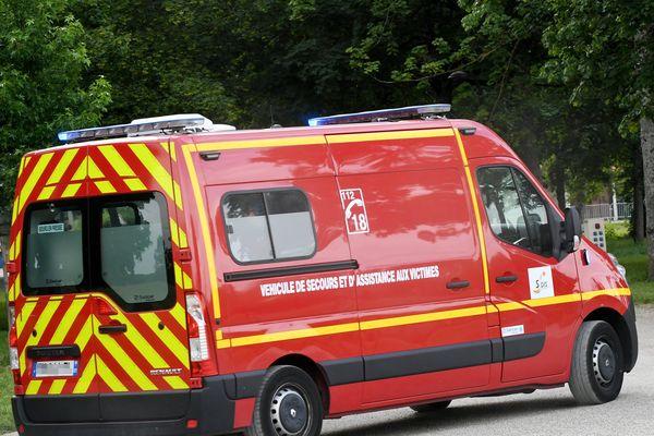 Les pompiers sont intervenus pour dégager les véhicules accidentés. Photo d'illustration