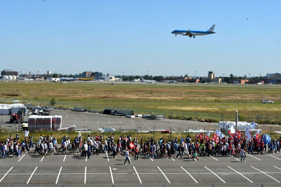 A Toulouse, le spectre des licenciements continue à planer sur les salariés d'Airbus
