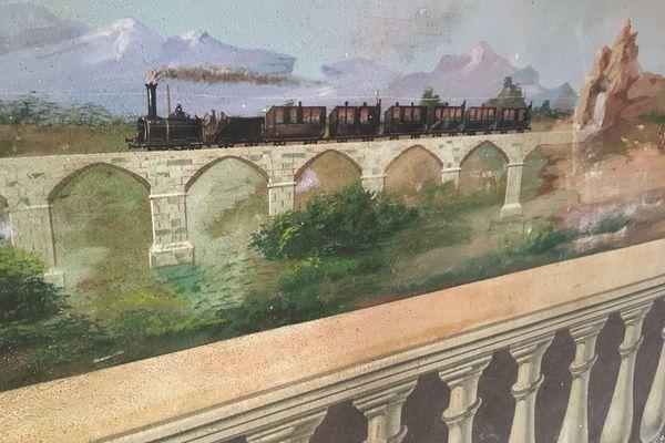 """Construit en 1875, aux balcons surmontés de deux aigles rouges, le château de Stopielle est un des plus beaux exemples des nombreux """"palais des Américains"""" présents dans le Cap Corse."""
