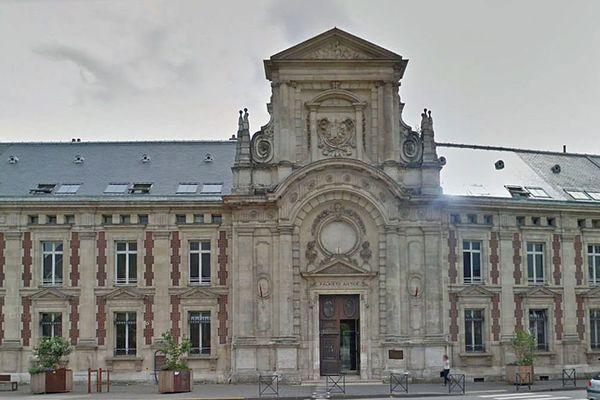 La palais de justice d'Evreux
