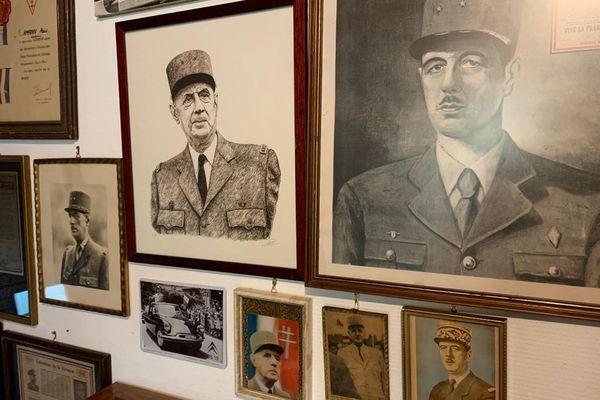Collection de portraits du général De Gaulle