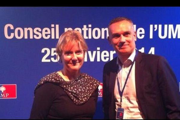 Le binôme Nadine Morano-Arnaud Danjean a été officiellement validé par le conseil national de l'UMP pour mener la liste de l'Est aux élections européennes de mai 2014