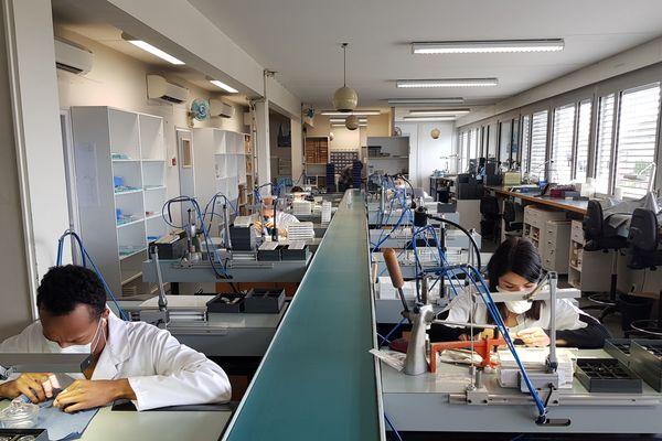 Les ateliers Michel Herbelin ont mis en place la protection des horlogers