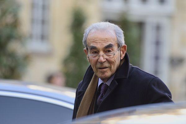 Robert Badinter à Paris le 15 janvier 2016.