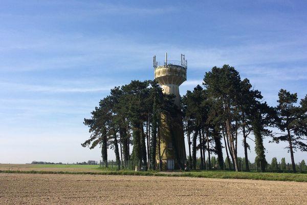 Le château d'eau de Villers-sur-Authie