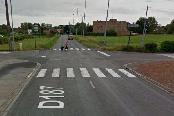 L'accident mortel s'est produit à ce carrefour à Isbergues