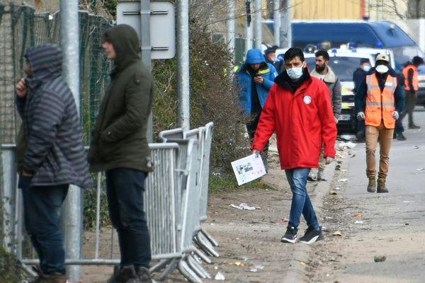A Calais, ce 3 avril 2020