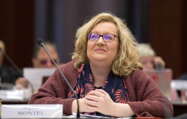 L'ex-eurodéputée Sophie Montel