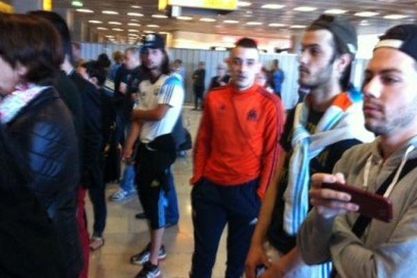 Les supporters n'ont pas pu apercevoir Marcello Bielsa à son arrivée