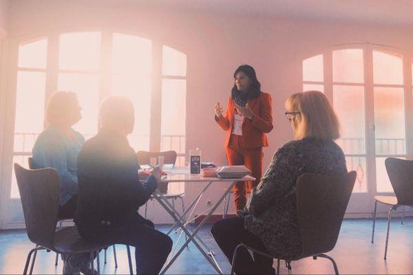 Pour Françoise Piazzola, participer aux ateliers d'Octobre rose est très important.