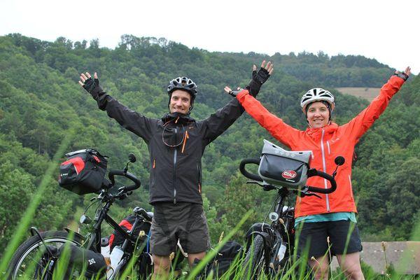 Claire et Thibault ont traversé près de 24 pays durant leur tour de l'Eurasie d'un an.