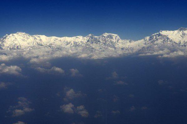 Himalaya.Image d'illustration.