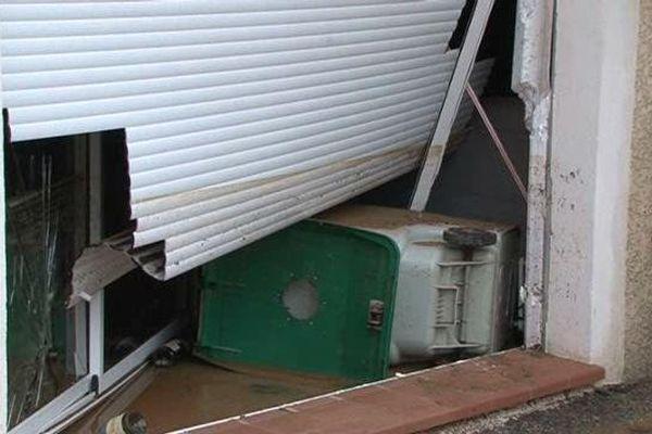 Les fortes pluies ont causé des dégâts matériels au Pradet.
