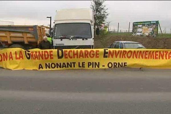 Le camp des opposants au site GDE de Nonant-le-Pin