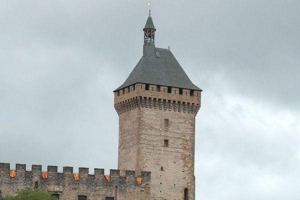 Le château de Foix accueille habituellement 100 000 visiteurs par an.