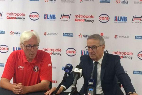 Christian Monschau n'est plus l'entraineur du SLUC Nancy Basket