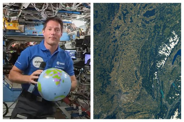 L'astronaute français Thomas Pesquet a publié sur Twitter un cliché satellite sur lequel il est possible d'apercevoir le Jura.
