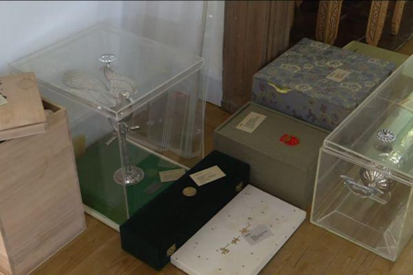 déménagement au musée du septennat de Château-Chinon