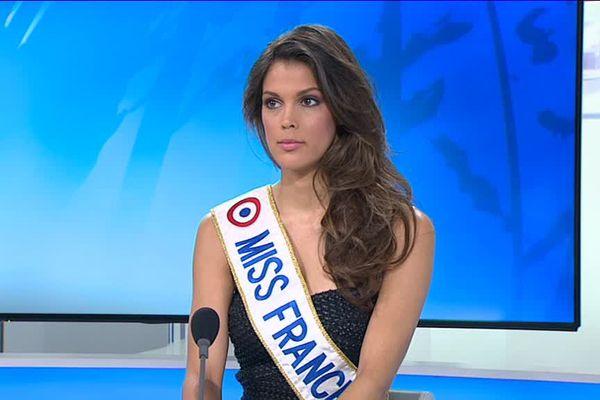 Miss France 2016 sur le plateau du 12/13 le 16 décembre 2016
