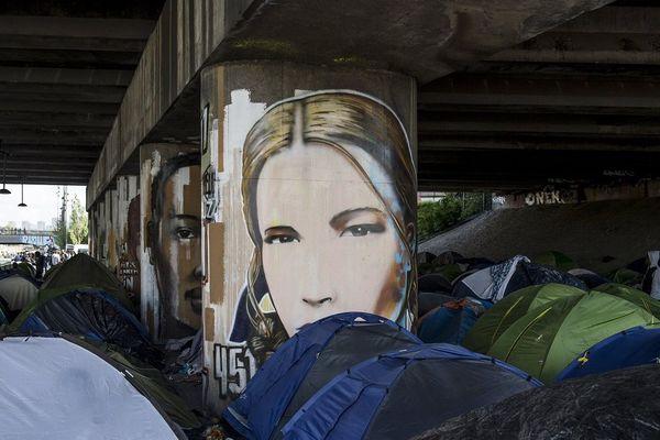 Déjà en 2018, des migrants s'étaient installés au bord du canal Saint-Denis