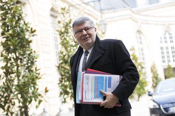 Alain Vidalies, Secrétaire d'Etat en charge des transports, de la mer et de la pêche.