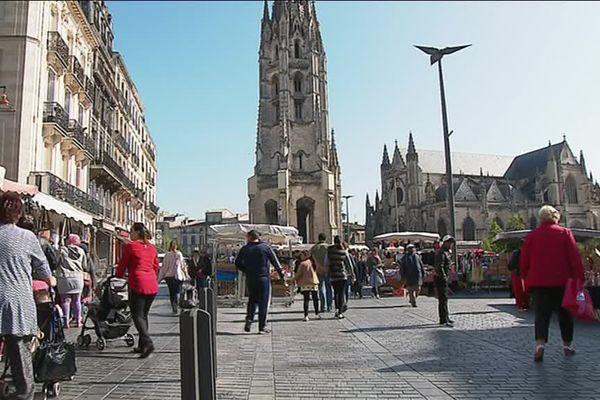 Bordeaux, la ville qui a placé Emmanuel Macron largement en tête le 7 mai 2017.