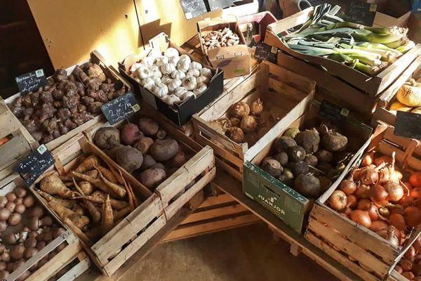 Les paniers du Gardin Partageo livrés dans le Calvados