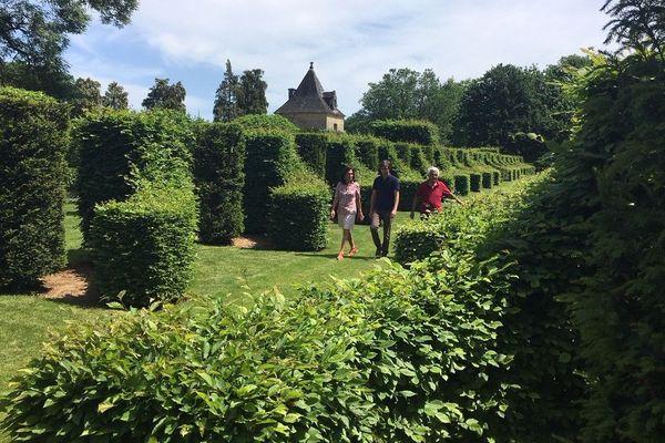 Les jardins d'Eyrignac, dans le Sarladais ont rouvert dès le premier jour du déconfinement