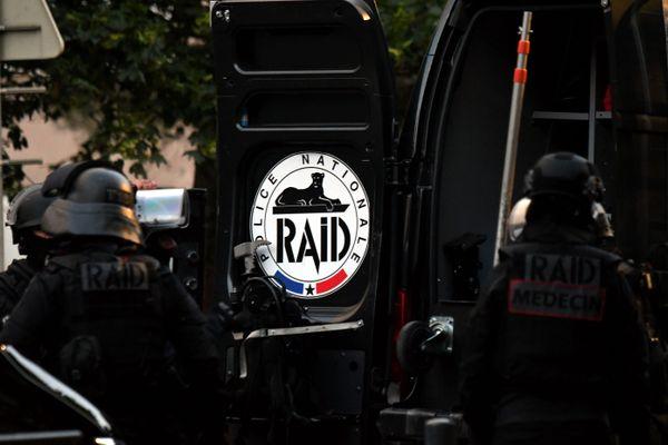 Le Raid en intervention quartier Empalot de Toulouse (Archives)