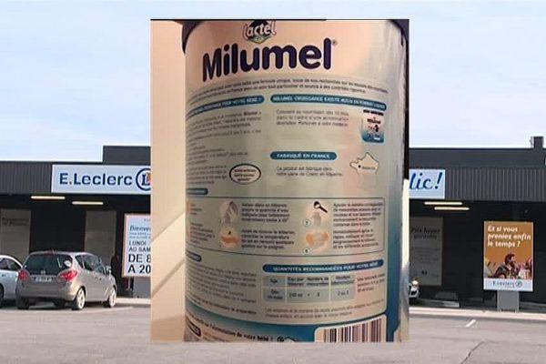 Le lait incriminé donné aux jumeaux du Gard était commercialisé par Lactalis sous la marque Milumel.
