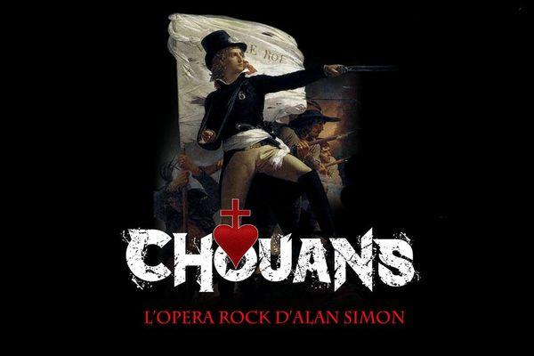Affiche Chouans, l'opéra Rock d'Alan Simon