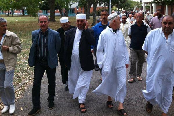 Une marche contre la barbarie à l'initiative de l'imam de la mosque de quartier de la Faourette à Toulouse