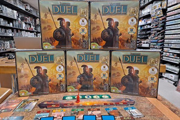 Sevens Wonders, l'un des jeux qui se vend le plus.