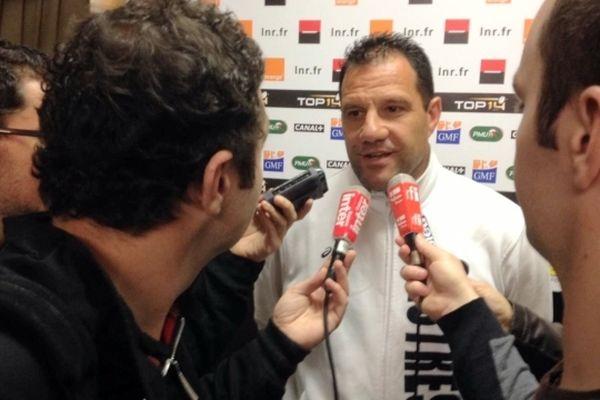 Laurent Labit l'un des coachs castrais à Nantes ce vendredi