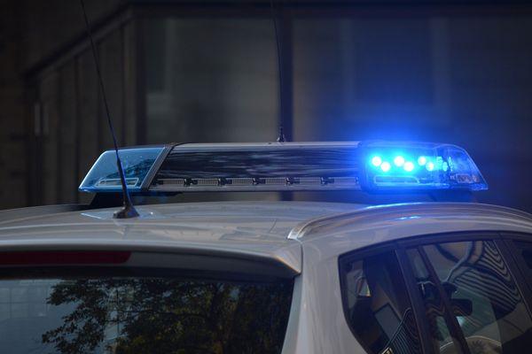 Voiture de police.