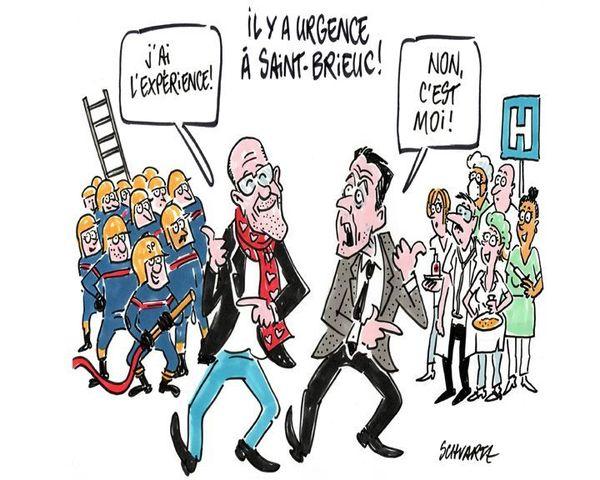 Le débat sur les municipales de Saint-Brieuc vu par Loïc Schvartz