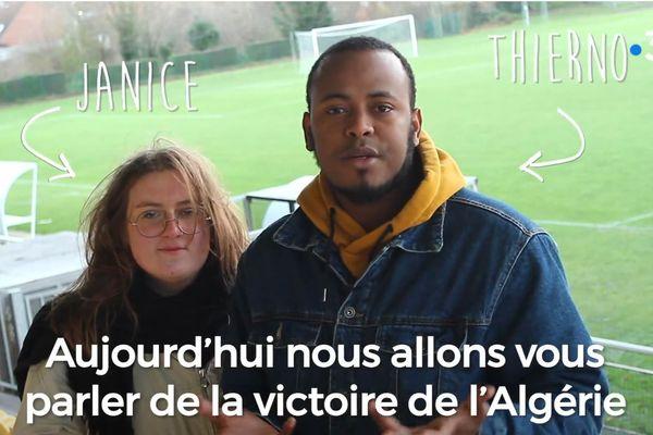 Janice Bohuon et Thierno Diallo