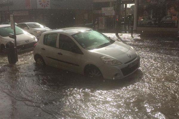 Le faubourg Bonnefoy sous les eaux