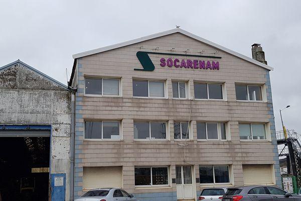 le chantier de la Socarenam
