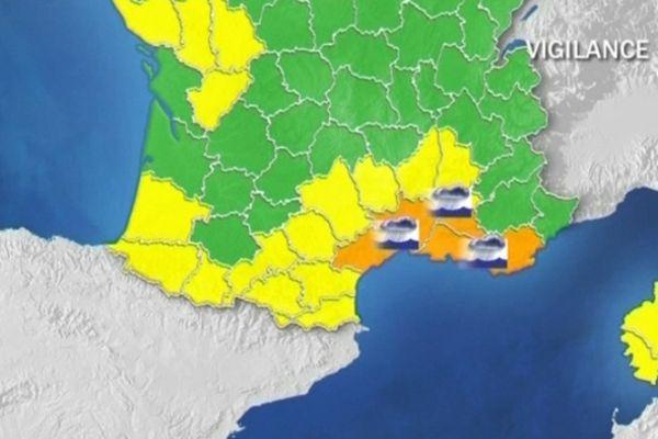 Le Var a été placé en vigilance orange par Météo France. De fortes pluies sont attendues dans l'après-midi et la soirée du 21 octobre