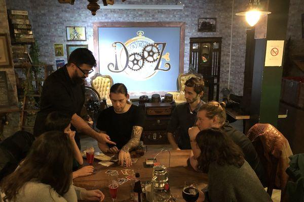 """""""Dooz - Episode Zéro"""" : un temple steam punk dédié aux jeux de société"""